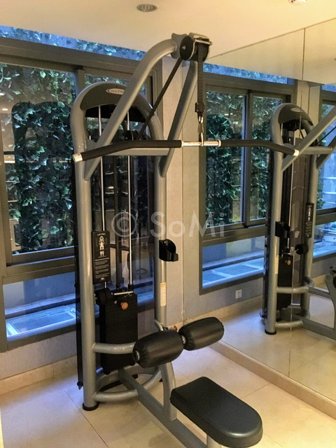 Lat pull down machine in EdenStar Saigon Hotel & Spa