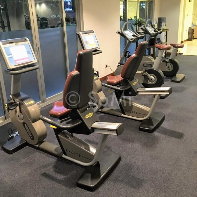 Cardio machines in New World Saigon Hotel