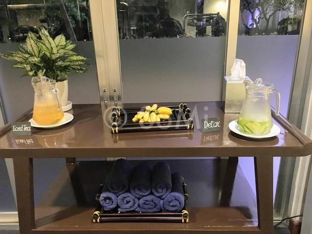 Refreshments in New World Saigon Hotel