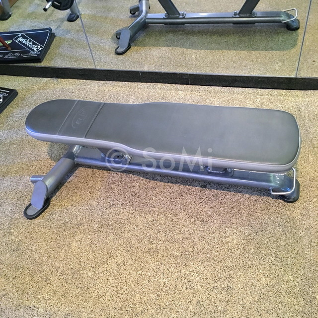 Flat bench at Lotte Legend Hotel Saigon