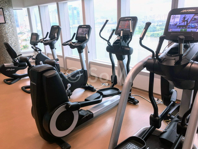 Cardio machines at Le Méridien Saigon