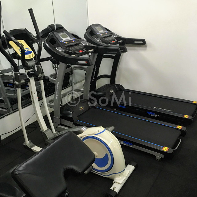 Cardio machines at Bay Hotel Ho Chi Minh