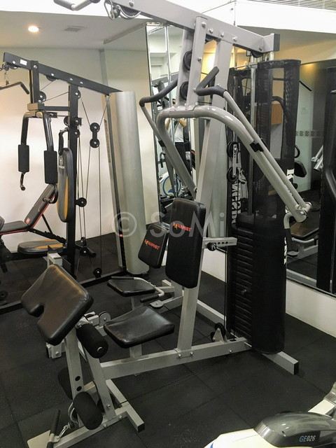 Multi weight machine at Bay Hotel Ho Chi Minh