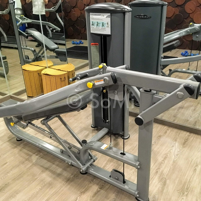 Chest press machine at Paragon Saigon Hotel