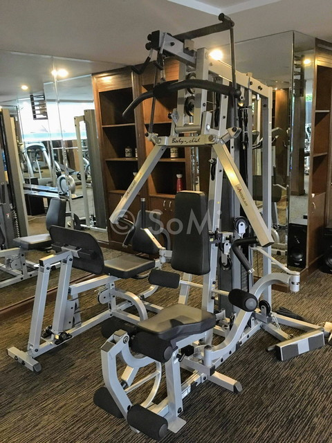 Multi weight machine at Nhat Ha L'Opera Hotel