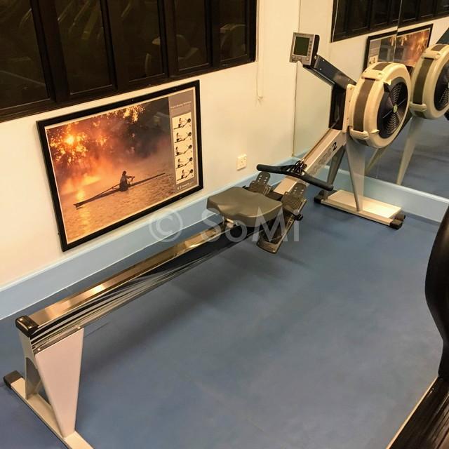 Cardio machine at Norfolk Mansion