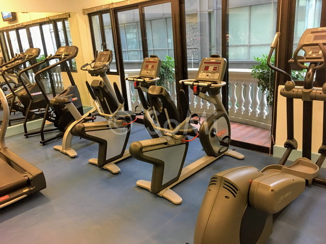 Cardio machines at Norfolk Mansion