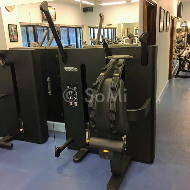Techno Gym machine at Norfolk Mansion