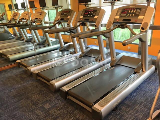 Cardio machines at Sofitel Saigon Plaza Hotel