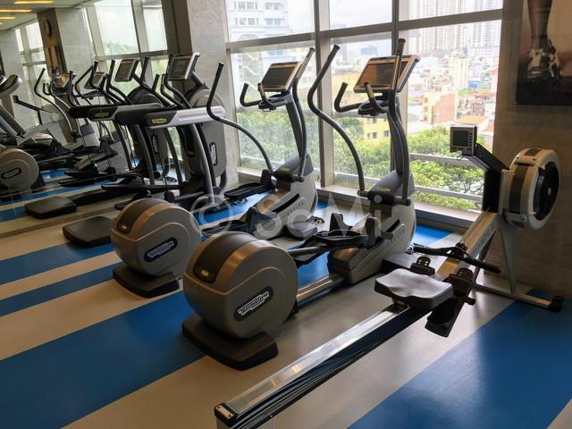 Cardio machines in Pullman Saigon Centre Hotel