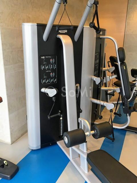 Weight machines in Pullman Saigon Centre Hotel