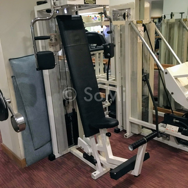 Pectoral fly machine in Hotel Equatorial Ho Chi Minh City