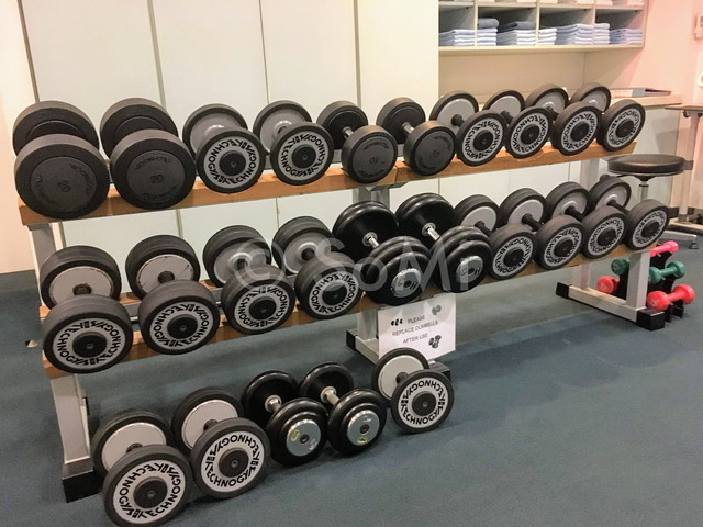 Dumbbells in Somerset Palace Seoul