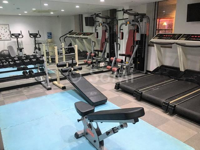 Gym in Aventree Hotel Jongno