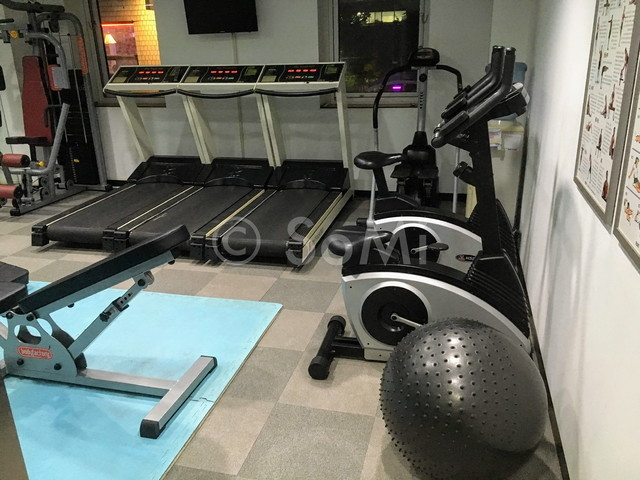 Cardio machines in Aventree Hotel Jongno