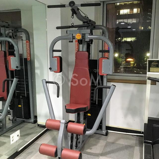 Multi weight machine in Aventree Hotel Jongno