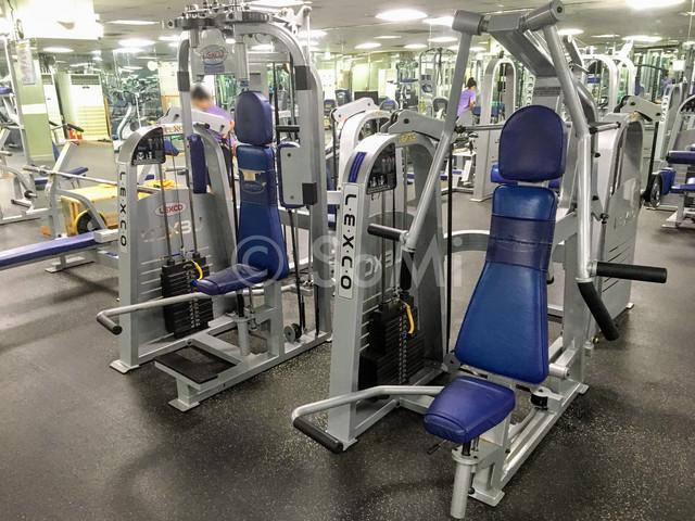 Weight  machines in Hamilton Hotel