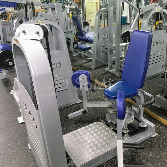 Weight machine in Hamilton Hotel