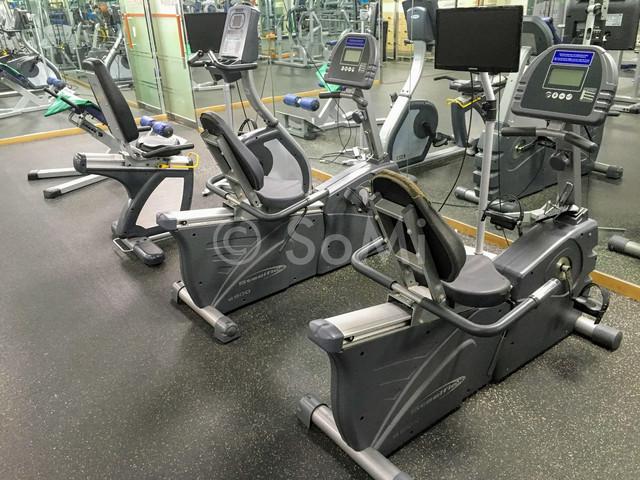 Cardio machines in Hamilton Hotel