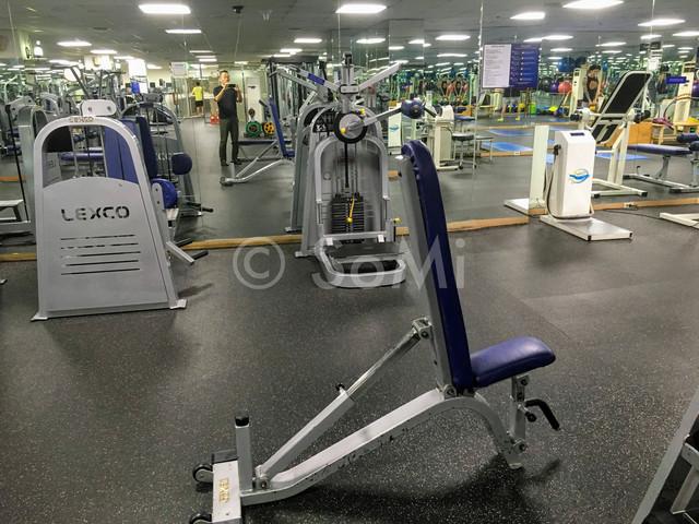 Gym in Hamilton Hotel