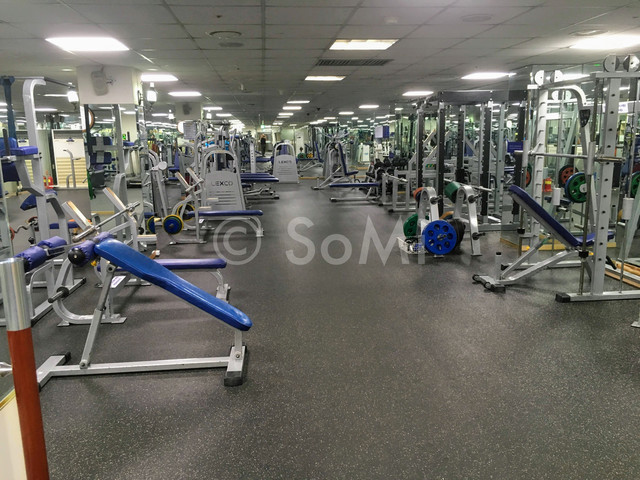 The gym in Hamilton Hotel at Seoul