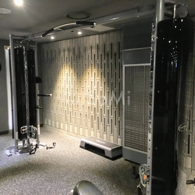 Cable crossover in the gym of Ramada by Wyndham Seoul