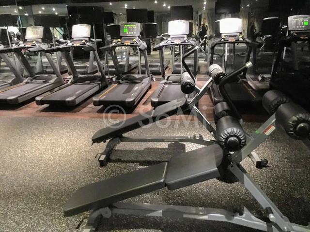 Cardio machines in the gym of Ramada by Wyndham Seoul