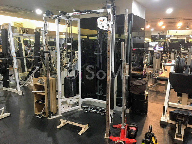 The gym in Provista Hotel at Seoul