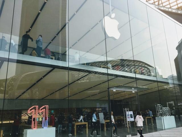Apple Store広州の外観