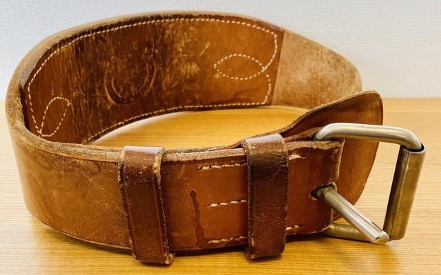 ニコライ堂靴店製トレーニングベルト
