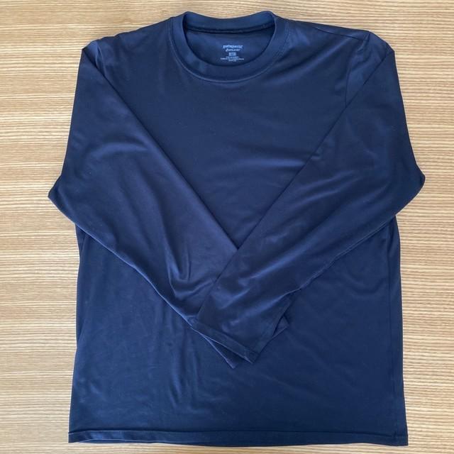 パタゴニアのキャプリーンシルクウエイトクルーTシャツ