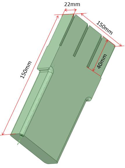 ダーツケースのイメージ図