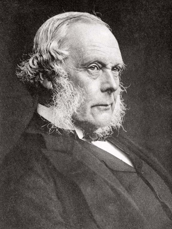ジョセフ・リスター肖像