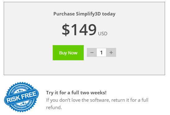 Simplify3Dの値段