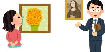 絵画のイメージ図
