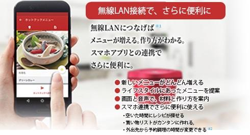 無線LAN対応
