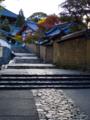 奈良公園 東大寺二月堂へ向かう石段