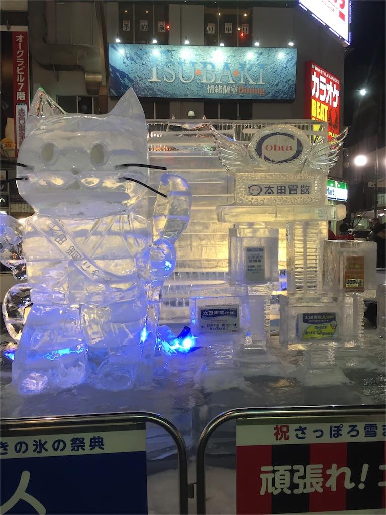 太田胃酸の氷像