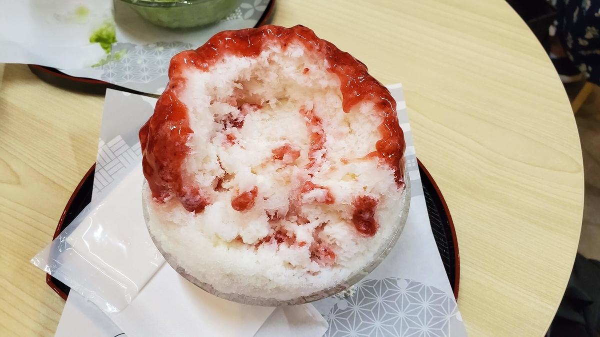 「えぞうさぎ」札幌ラーメン共和国内にできたフワフワかき氷専門店にいってきた