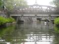 64.「橋の下の小舟」