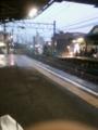 雨の本星崎