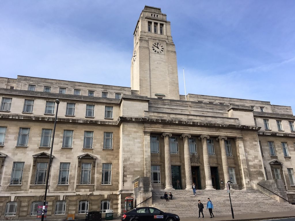 Parkinson building at Leeds University