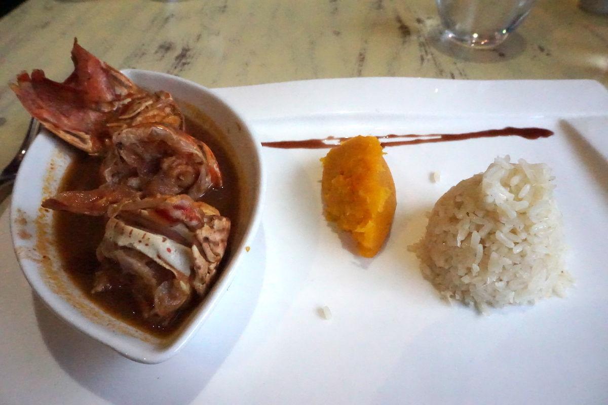 Royalton Hicacos Resort & Spa El Caribe starter lobster