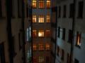 上海のホテルにて