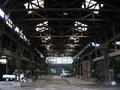 廃工場の駐車場