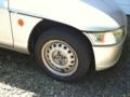 新品タイヤでゴー