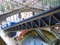 池袋芸術劇場の5階まで一気!のエスカレーター