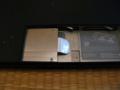MacBook(Late 2006)のHDDはこの向きに入れる