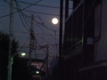 皆既月食の日の満月