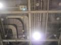 東京ビッグサイト西館の天井はダクトが見えてかっこいい